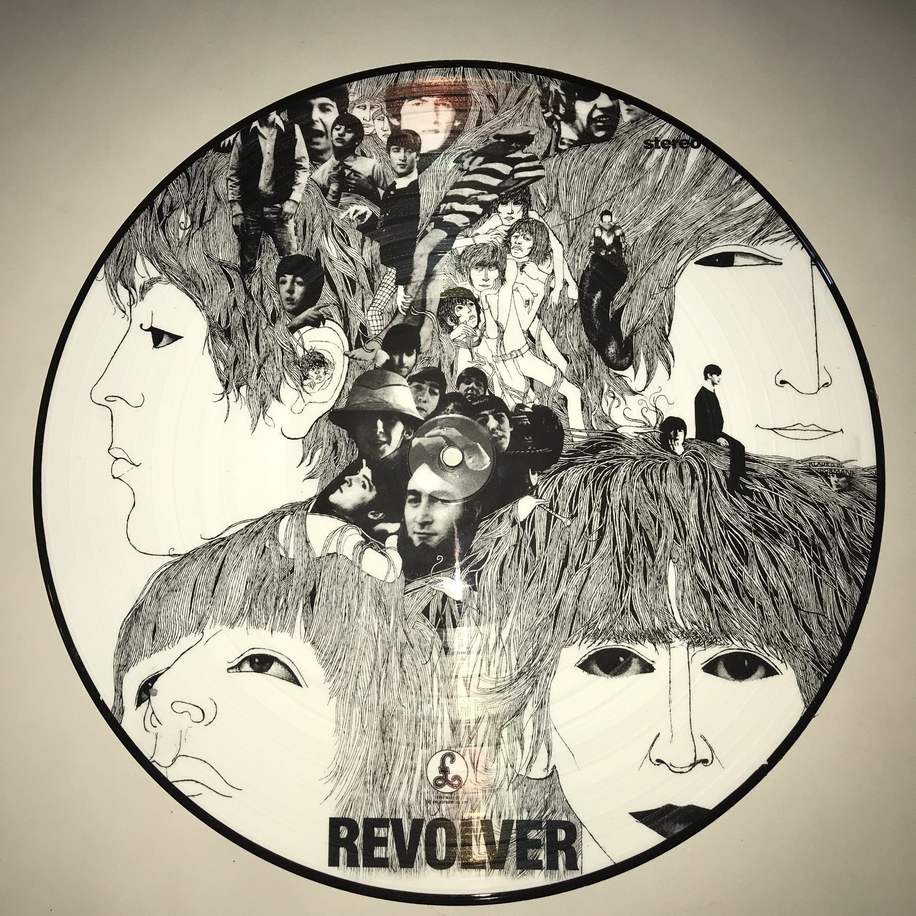 The Beatles - Revolver Picture Disc