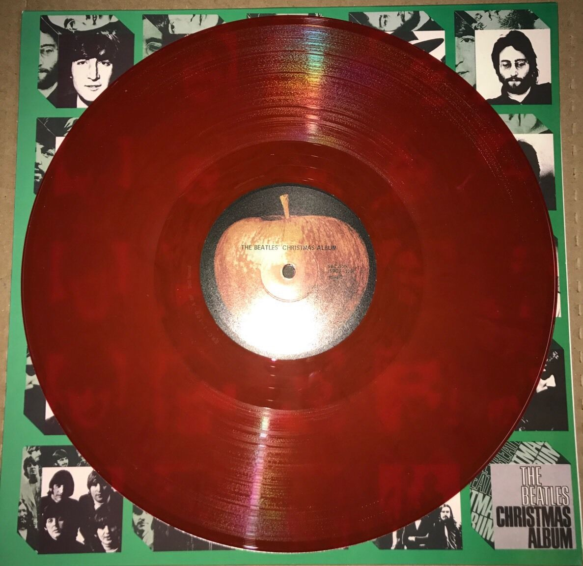 The Beatles Christmas Album.Beatles Christmas Album 180g Red Colored Vinyl